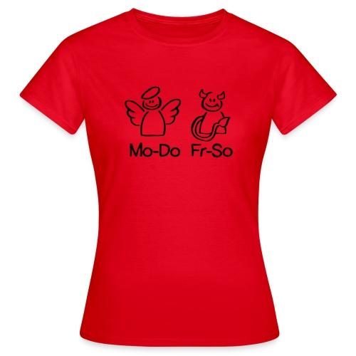 endlich wochenende! - Frauen T-Shirt