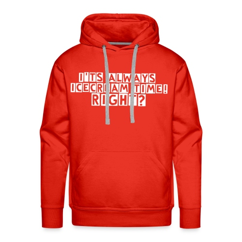 I'ts always icecream time sweater - Mannen Premium hoodie