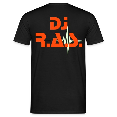Dj R.a.s. play Orange! - T-shirt Homme