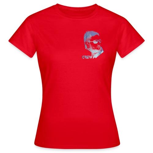 sørensail navy crew-line - Women's T-Shirt
