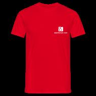 T-Shirts ~ Männer T-Shirt ~ T-Shirt Rot