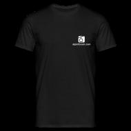 T-Shirts ~ Männer T-Shirt ~ T-Shirt Schwarz