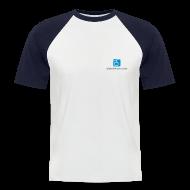 T-Shirts ~ Männer Baseball-T-Shirt ~ Baseballshirt, kurz