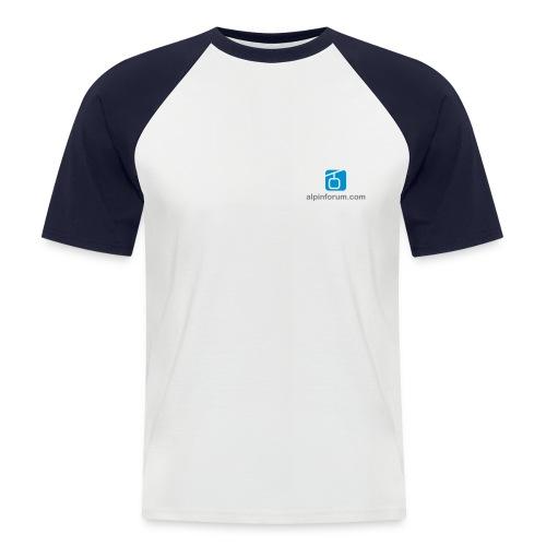 Baseballshirt, kurz - Männer Baseball-T-Shirt