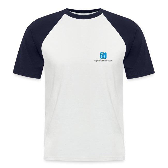 Baseballshirt, kurz