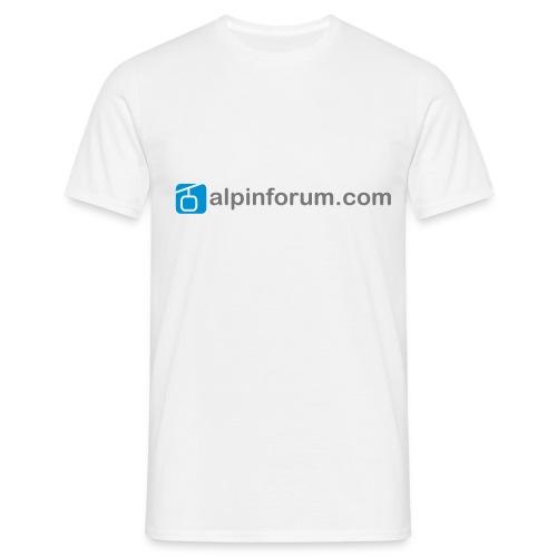 T-Shirt mit Schriftzug - Männer T-Shirt