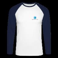 Langarmshirts ~ Männer Baseballshirt langarm ~ Baseballshirt langarm