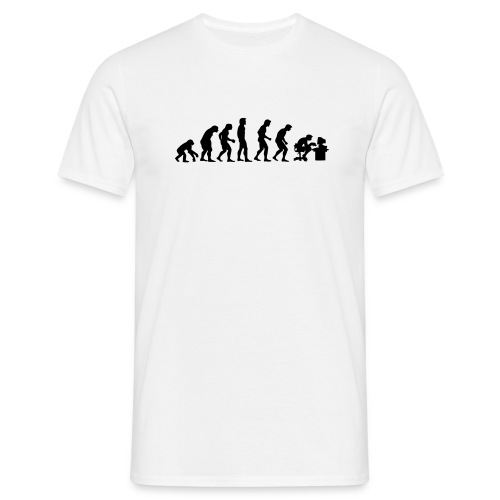 Evolution - Männer T-Shirt