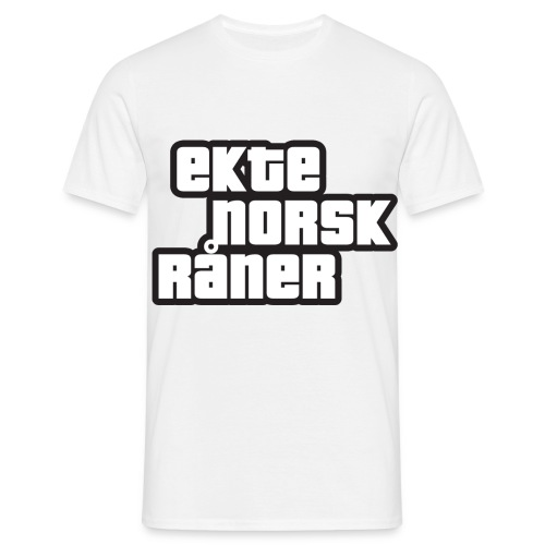Råner - T-skjorte for menn