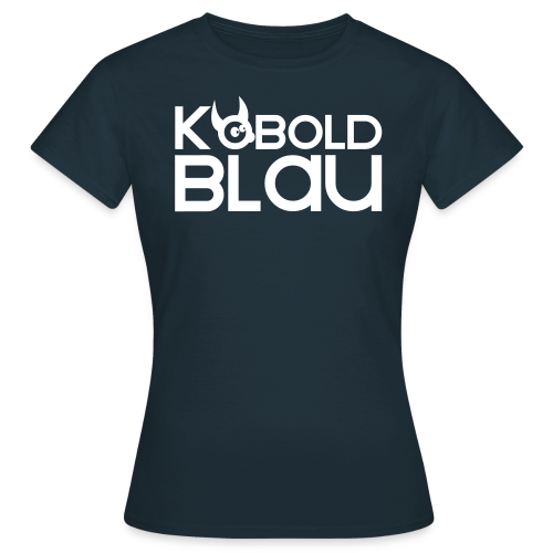 KoboldBLAU Female - Frauen T-Shirt
