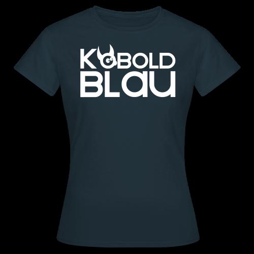 KoboldBLAU Female - Frauen T-Shirt