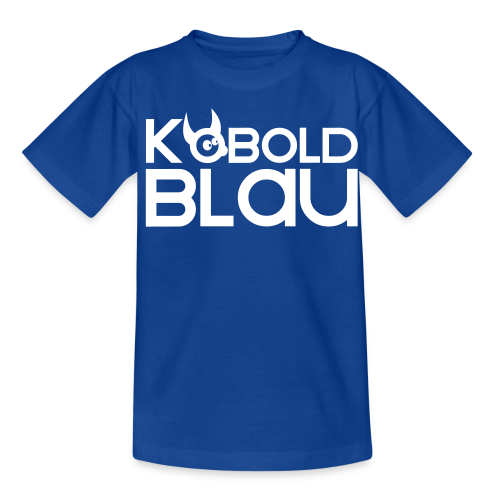 KoboldBLAU Kid - Teenager T-Shirt