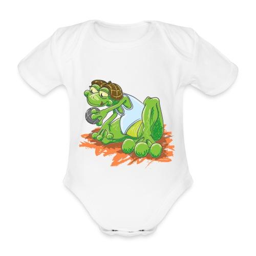 Pétanque - Body bébé bio manches courtes