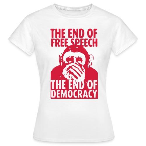 FREE SPEECH - Frauen T-Shirt