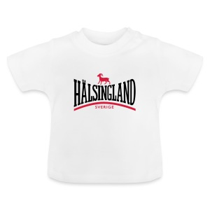 Baby-T-shirt - Bock,Hälsingland,hälsingebock
