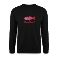 Pullover & Hoodies ~ Männer Pullover ~ Hering mit Schriftzug »Fischland«