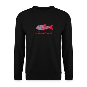 Hering mit Schriftzug »Fischland« - Männer Pullover