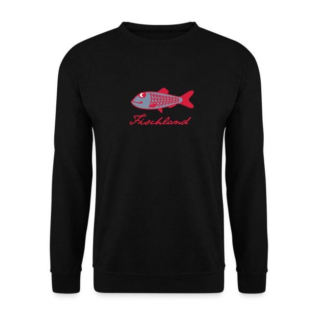 Hering mit Schriftzug »Fischland«