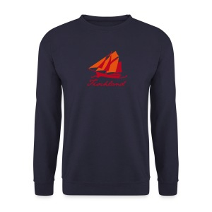Zeesboot mit Schriftzug »Fischland« - Männer Pullover