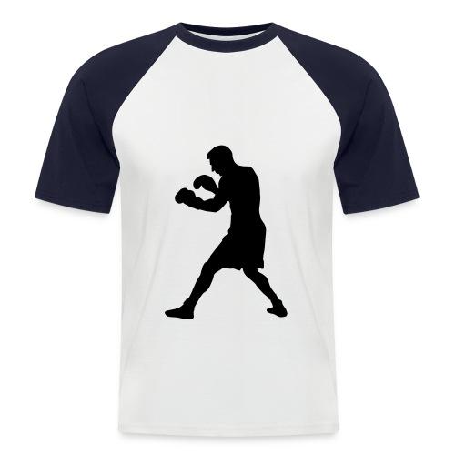 H2 - Camiseta béisbol manga corta hombre