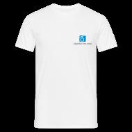 T-Shirts ~ Männer T-Shirt ~ T-Shirt mit 2 Logoprints