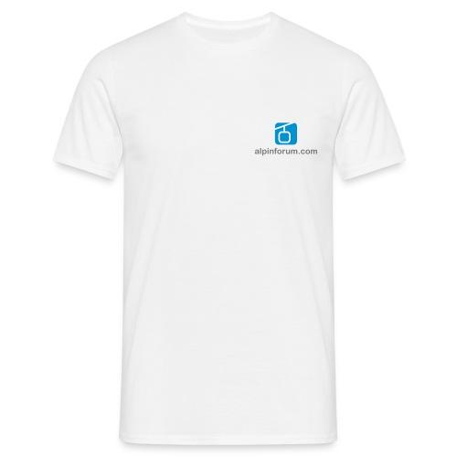 T-Shirt mit 2 Logoprints - Männer T-Shirt