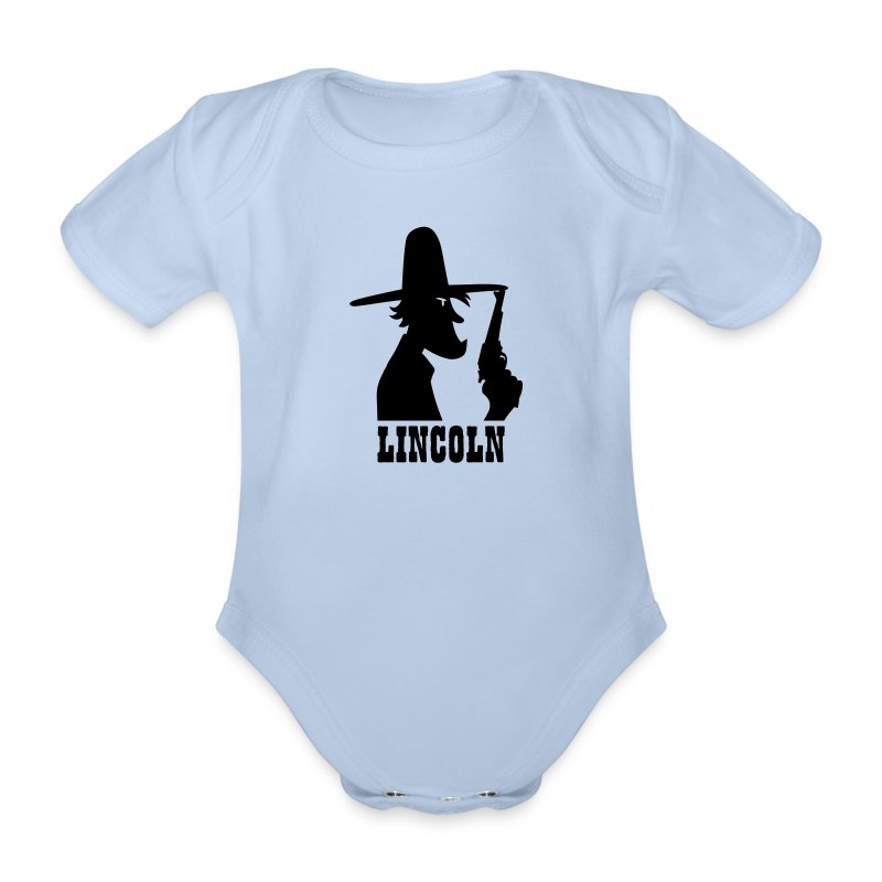 Pour le baby cowboy - Body bébé bio manches courtes