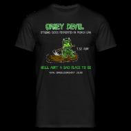 T-Shirts ~ Men's T-Shirt ~ Oakey Devil T-Shirt