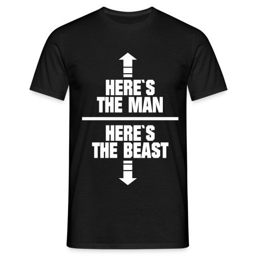 Man / Beast - Camiseta hombre