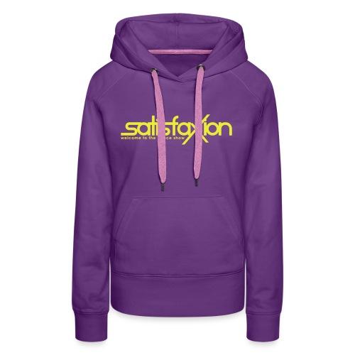 Sudadera SatisfaXion Girls - Sudadera con capucha premium para mujer