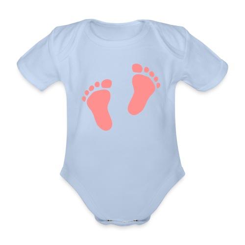 body pied - Body bébé bio manches courtes