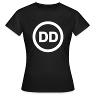 T-Shirts ~ Women's T-Shirt ~ DD black women
