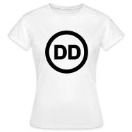 T-Shirts ~ Women's T-Shirt ~ DD white women
