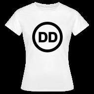 T-Shirts ~ Women's T-Shirt ~ DD white women