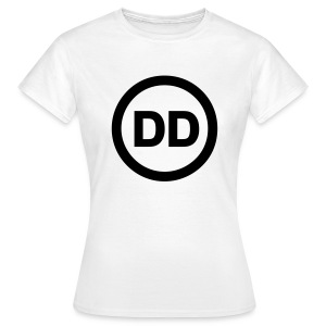 DD white women - Women's T-Shirt