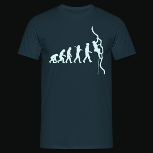 Humanoide Evolution - reflektierend (men) - Männer T-Shirt