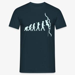 Humanoide Evolution - reflektierend (men) - Männer T-Shirt