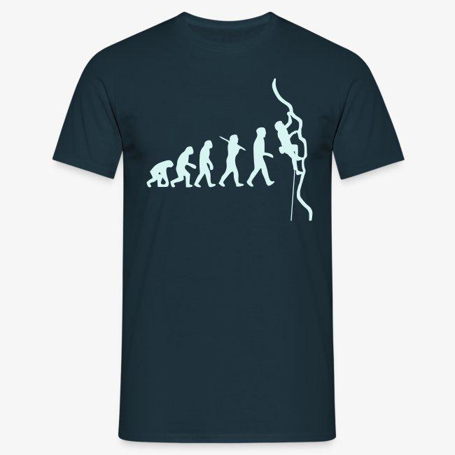 Humanoide Evolution - reflektierend (men)