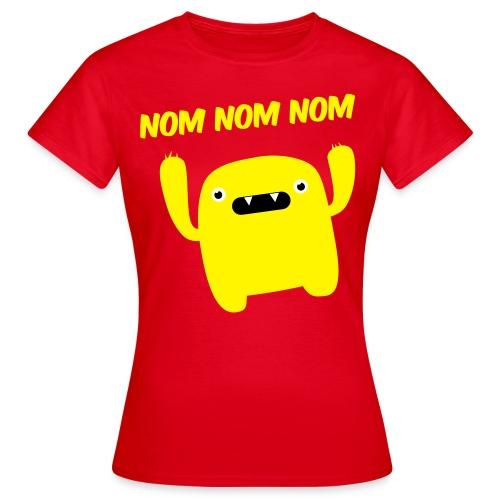 Nom Nom Nom (women) - Women's T-Shirt