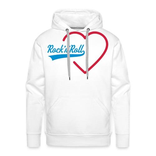Frenchy'Rock - Sweat-shirt à capuche Premium pour hommes
