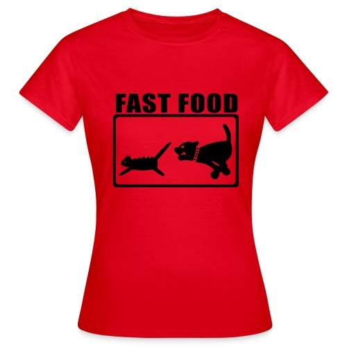 Fast Food (Women) - Women's T-Shirt