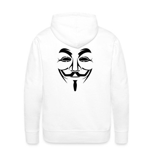 Sweat Matrix, Anonymous - Sweat-shirt à capuche Premium pour hommes