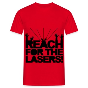 Men's Classic T-Shirt Reach for the Lasers! - Men's T-Shirt
