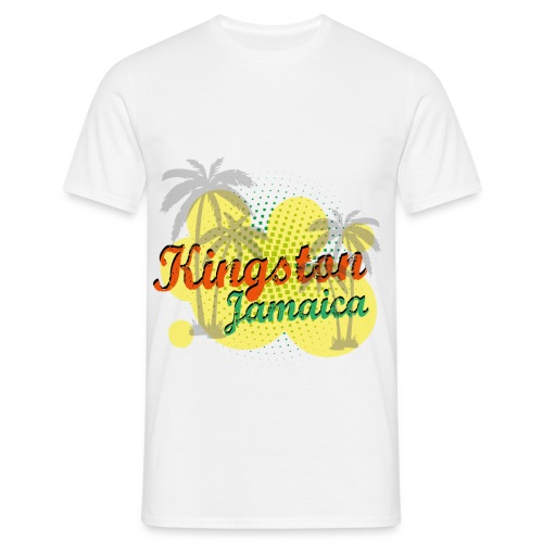Men's Classic T-Shirt Kingston, Jamaica - Men's T-Shirt