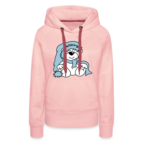 Women's Hoodie - Winter Bear - Women's Premium Hoodie