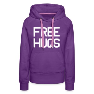 Free hugs trui - Vrouwen - Vrouwen Premium hoodie