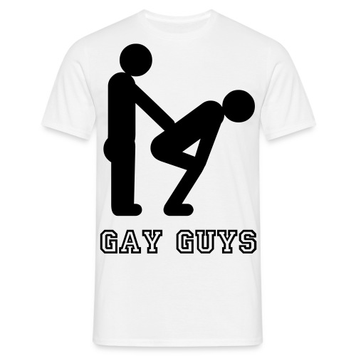 Gay Guys Pride T-Shirt - Men's T-Shirt