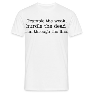 TRAMPLE HURDLE DIP - Men's T-Shirt