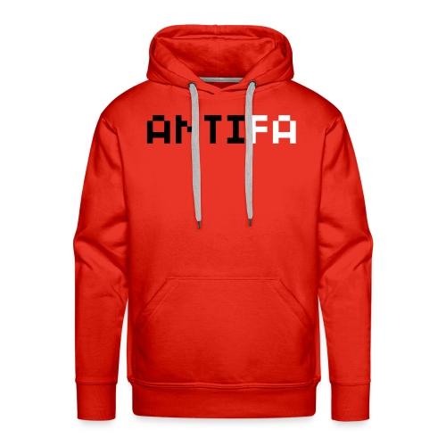 Felpa uomo Antifa - Felpa con cappuccio premium da uomo