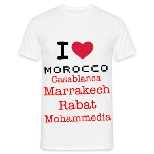 Y Love You Morocco - T-shirt Homme